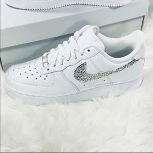 Nike Air Force 1 (314192 117) Crystal Bling, NEW